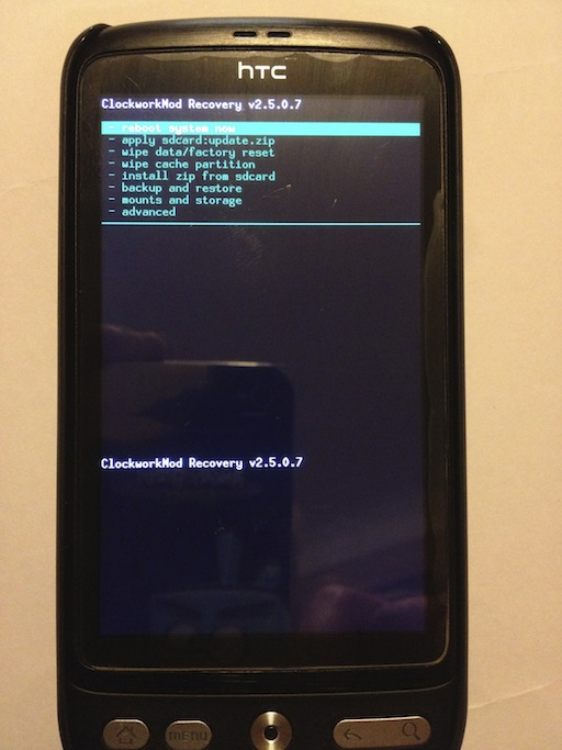 Installing Android Jelly Bean on an HTC Desire using Mac OS
