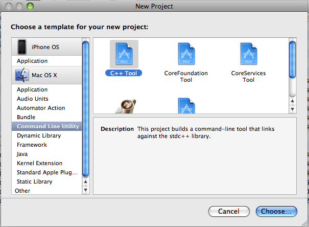 Building an OCCI project using XCode 3 1 - Mercator GeoSystems